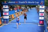 Eva Dollinger Zieleinlauf Weltcup Madrid 2008