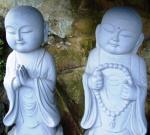 zwei scheinheilige Mönche